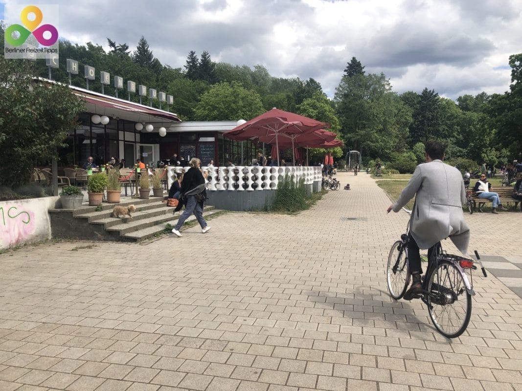 Bild Biergarten Cafe Schönbrunn
