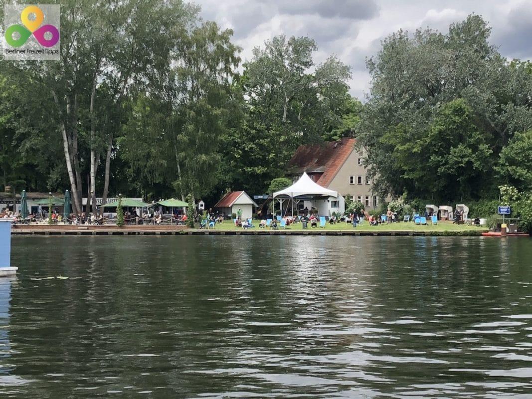 Biergarten Insel der Jugend