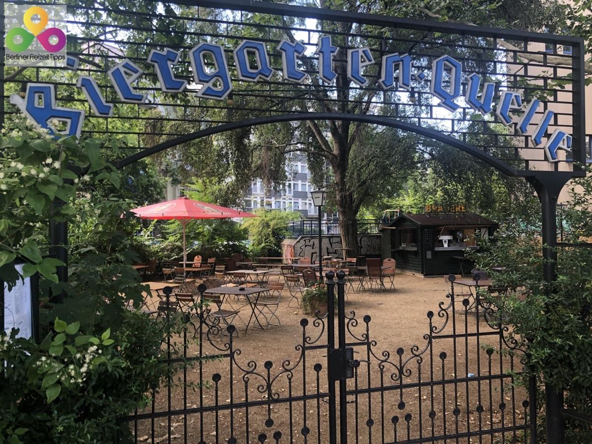 Bild Biergarten Tiergartenquelle