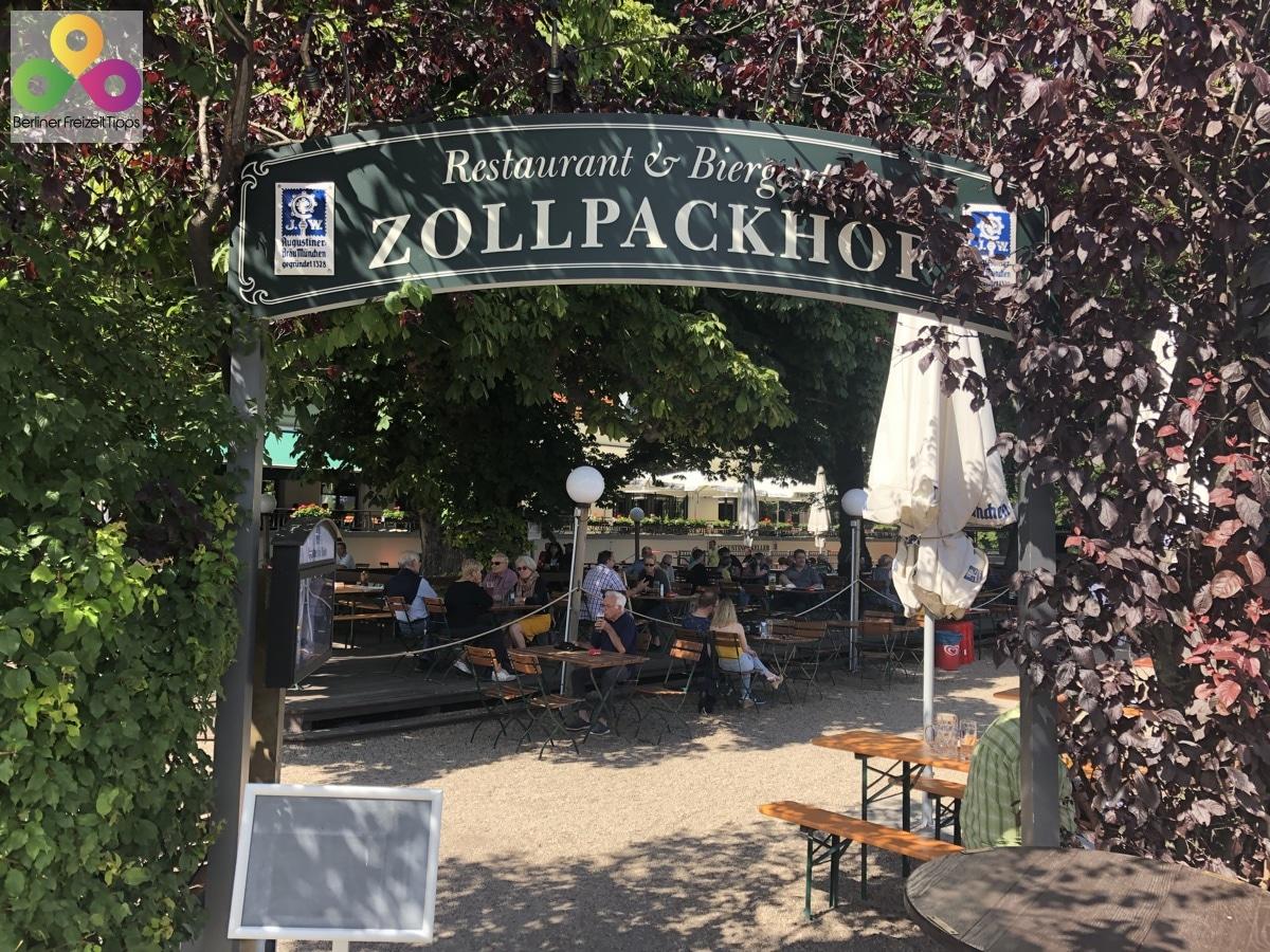Bild Biergarten Zollpackhof