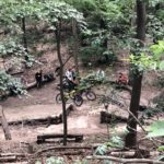 Foto Downhill Fahrer Mueggelberge