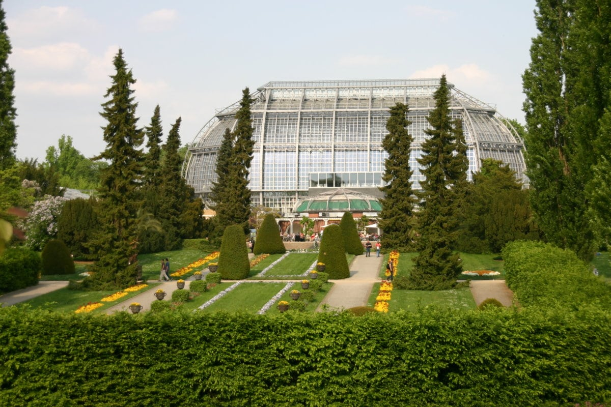 Bild botanischer Garten Berlin Dahlem