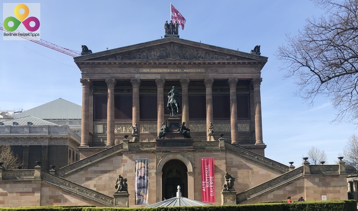 Reiterstandbild Friedrich Wilhelm IV. Alte Nationalgalerie