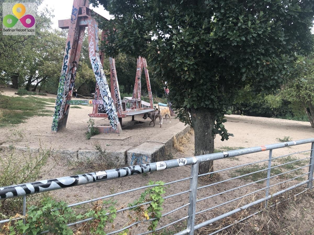Bild Hundeauslaufgebiet im Mauerpark
