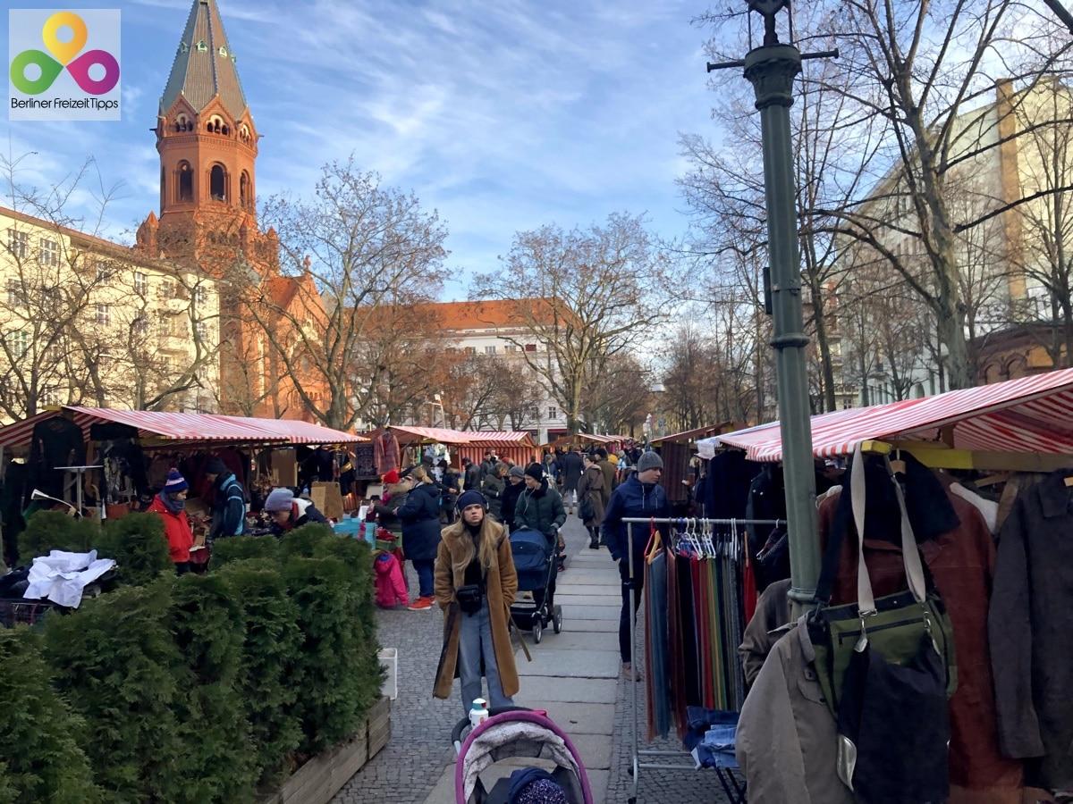 Bild Flohmarkt Marheinekeplatz