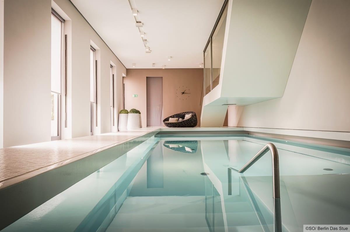 Pool Spabereich SO/Berlin Das Stue