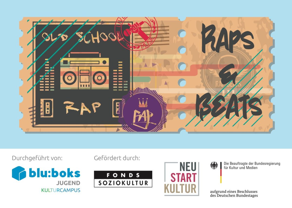 RAPS & BEATS Workshop bei blu:boks BERLIN Lichtenberg