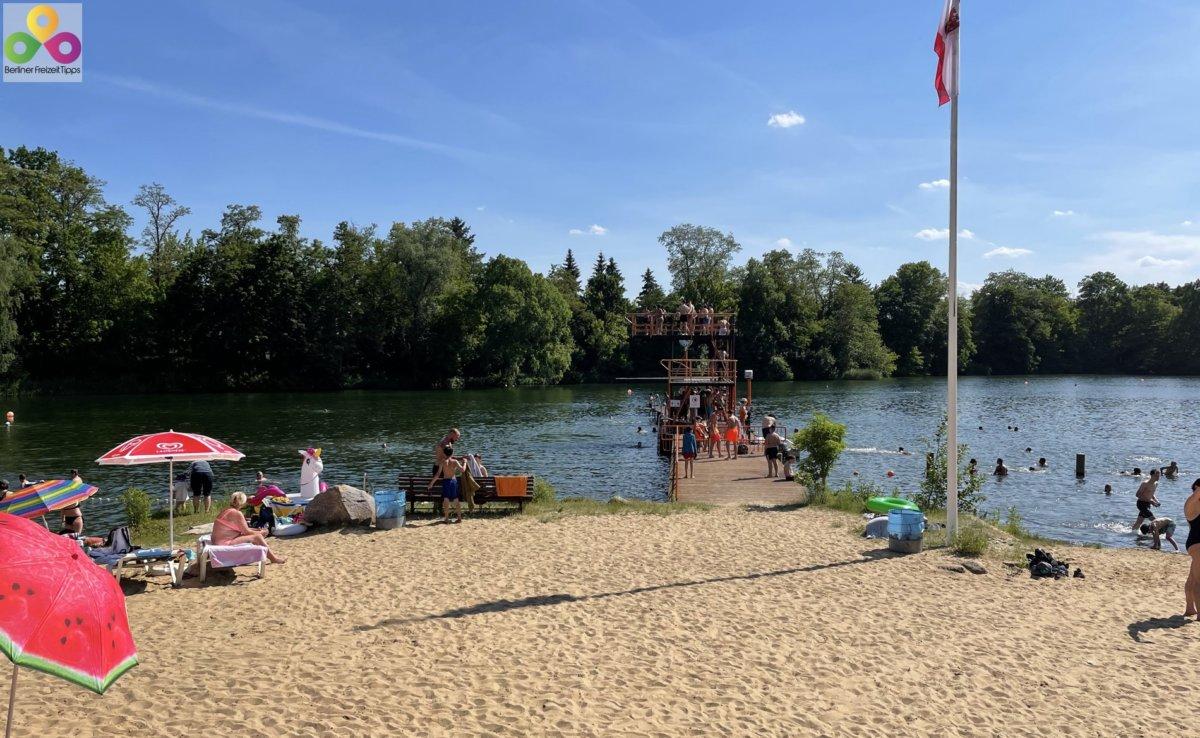 Bild Strandbad Lübars in Reinickendorf