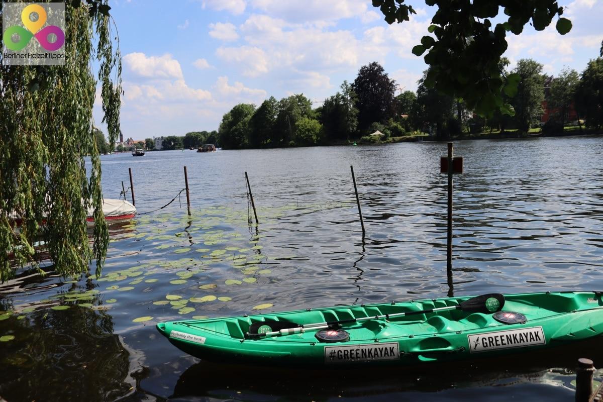Bild Kajak Mellowpark GreenKayak
