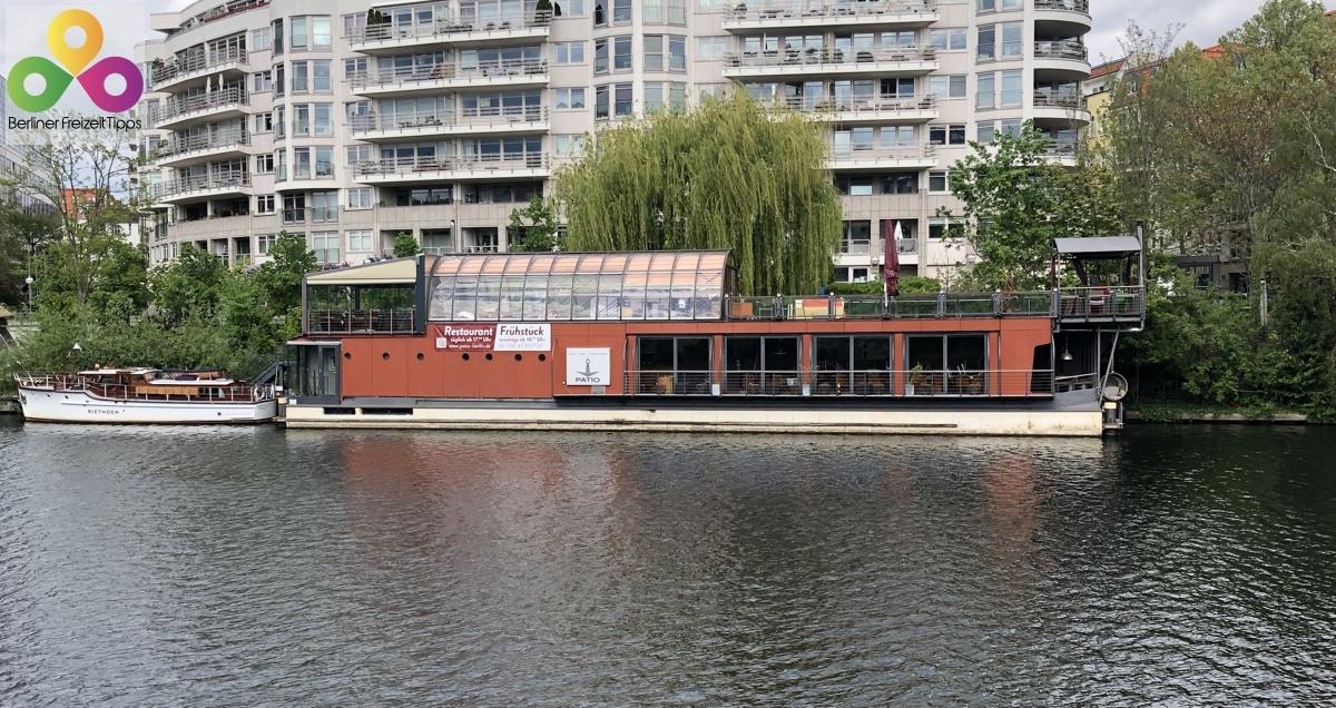 Bild Schiffsrestaurant PATIO Moabit Mitte