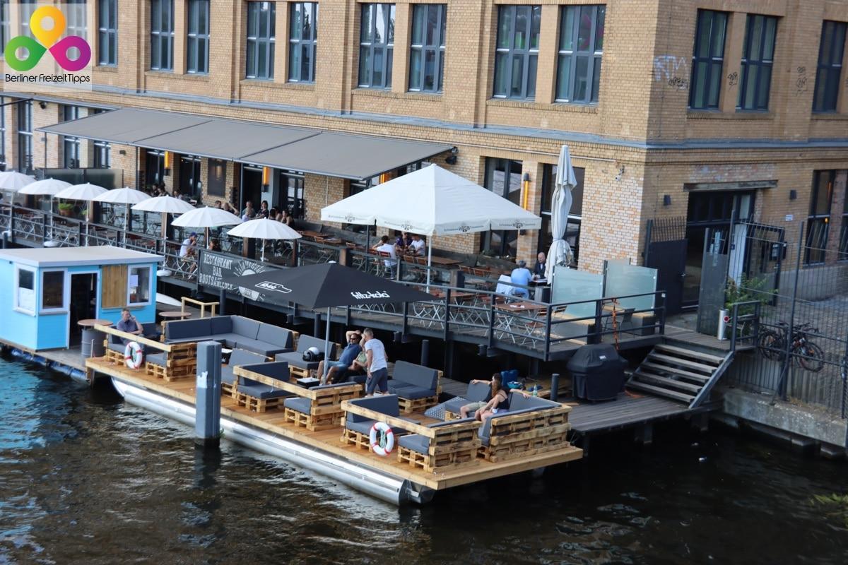 Bild Restaurant Bar Bootsanleger Sonnendeck