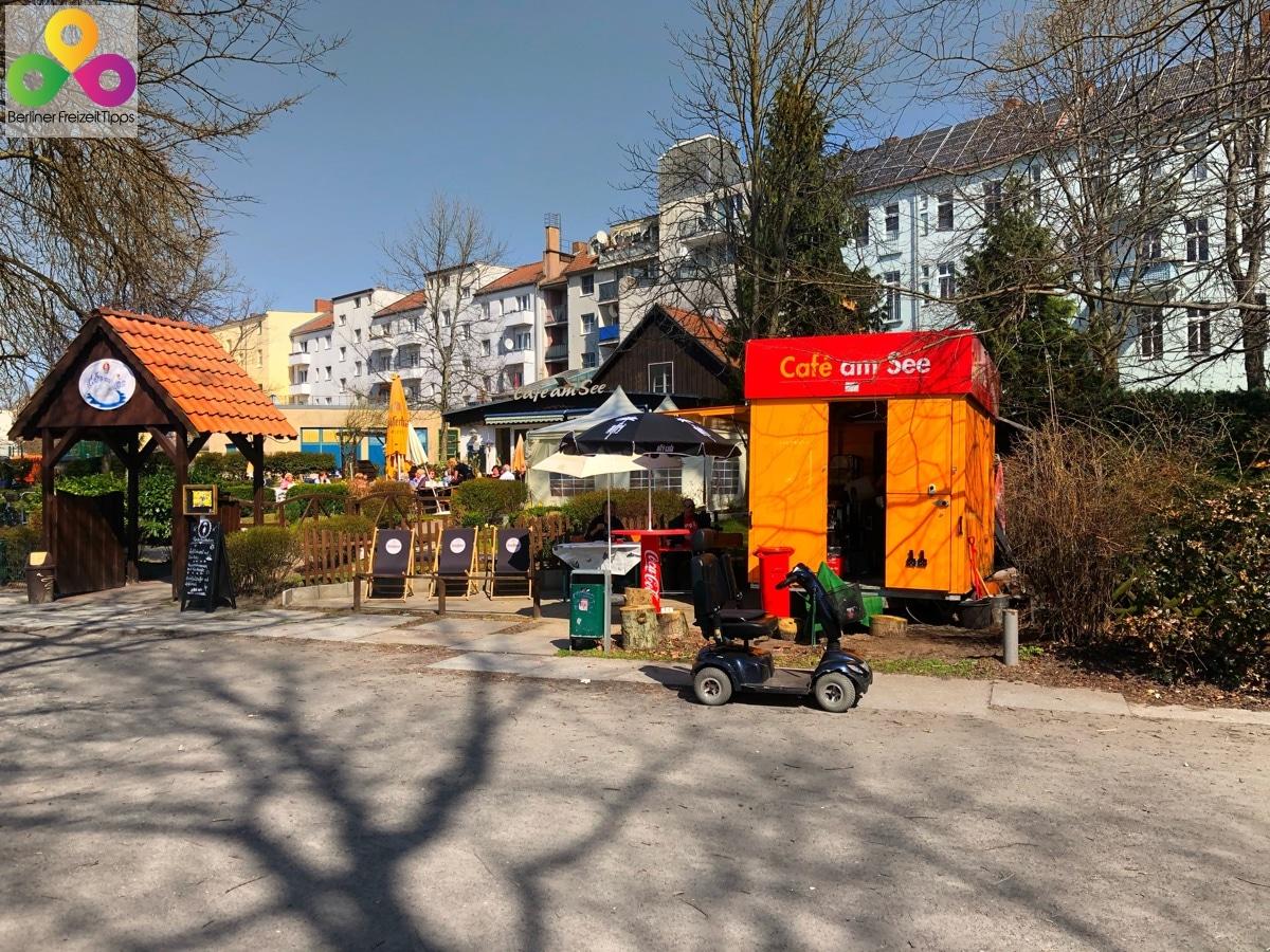 Schäfersee Cafe am See Reinickendorf