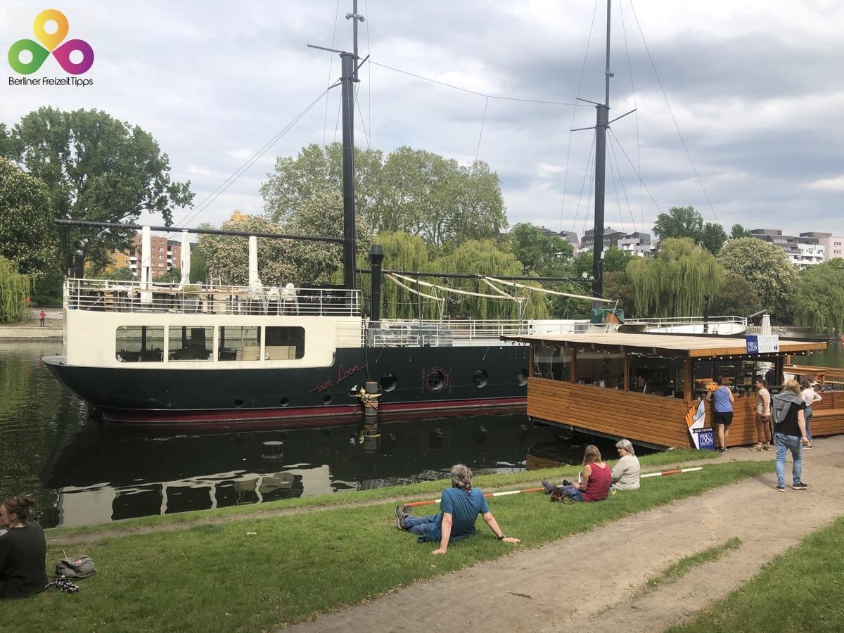 Restaurantschiff van Loon