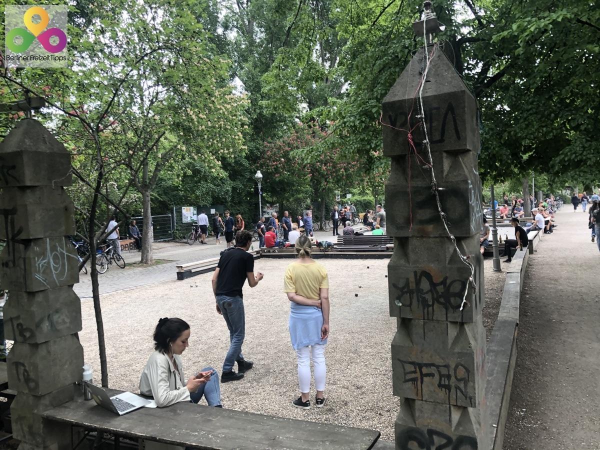 Bild Boule Anlage Kreuzberg